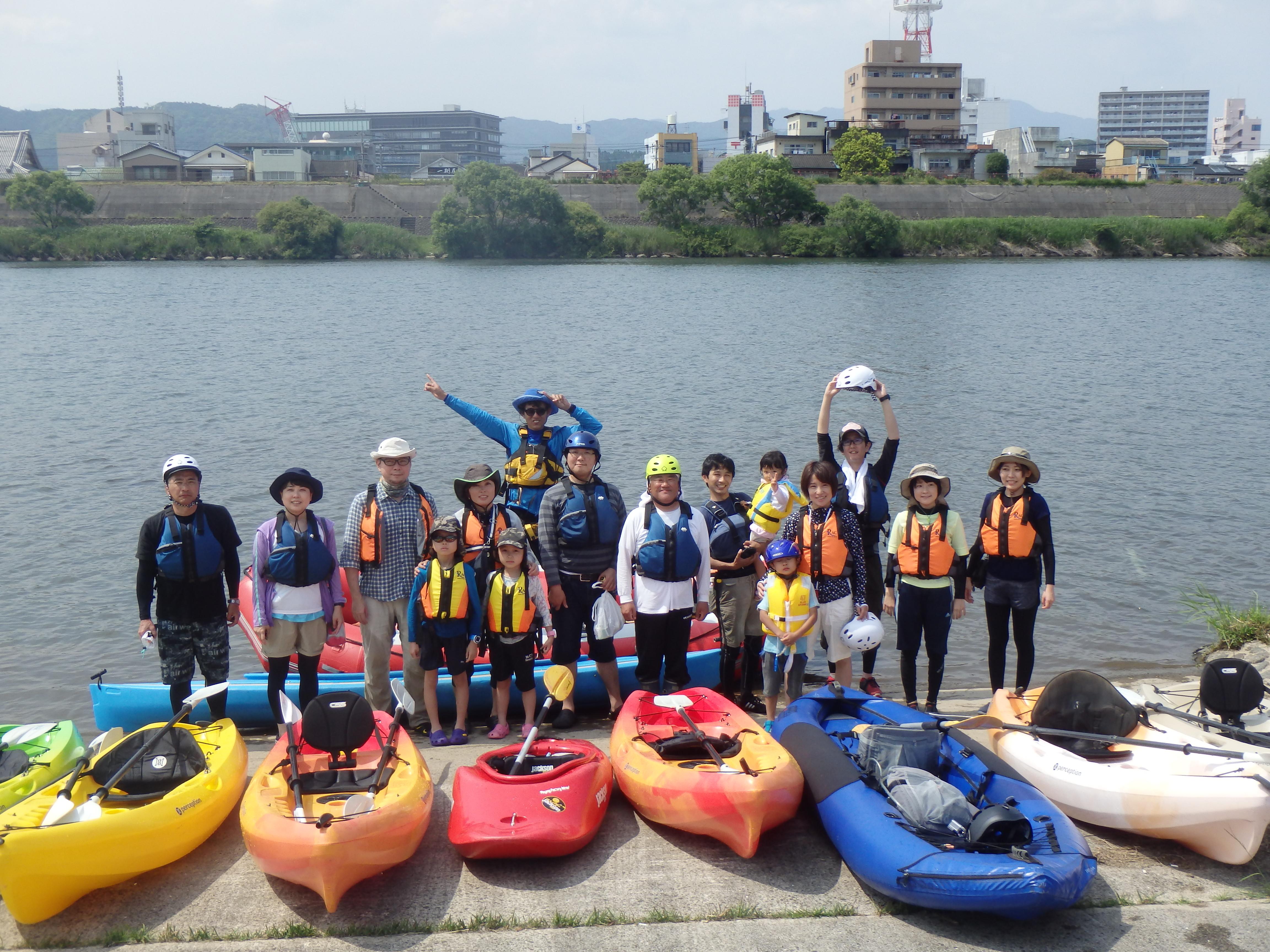 五ヶ瀬川集合写真